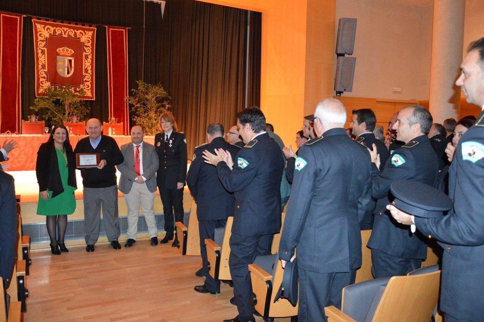 Día de la patrona de policia local de almonte