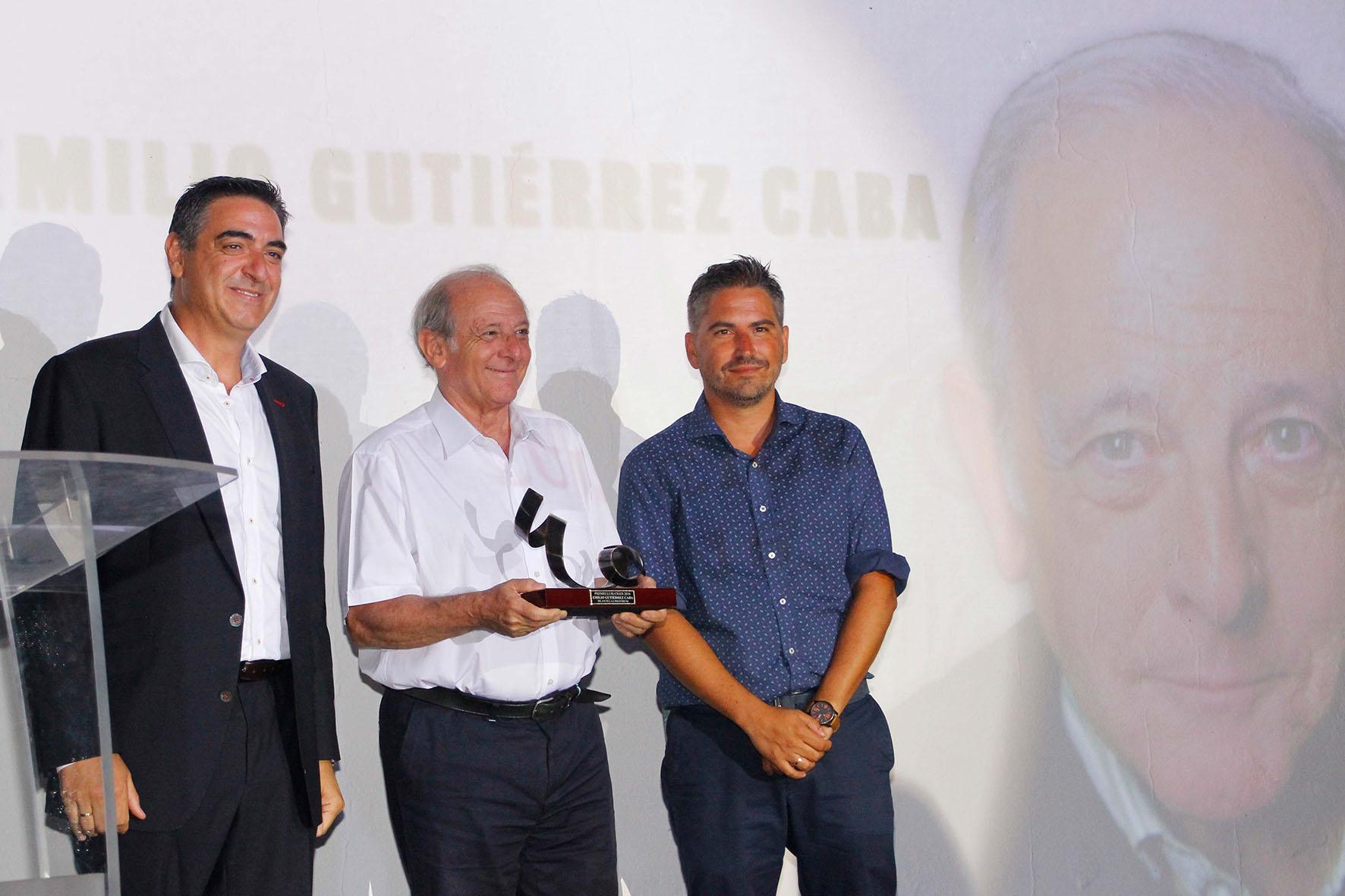 2016 08 27 Ceremonia de Clausura - Emilio Gutiérrez, Premio 'Luis Ciges' 2016