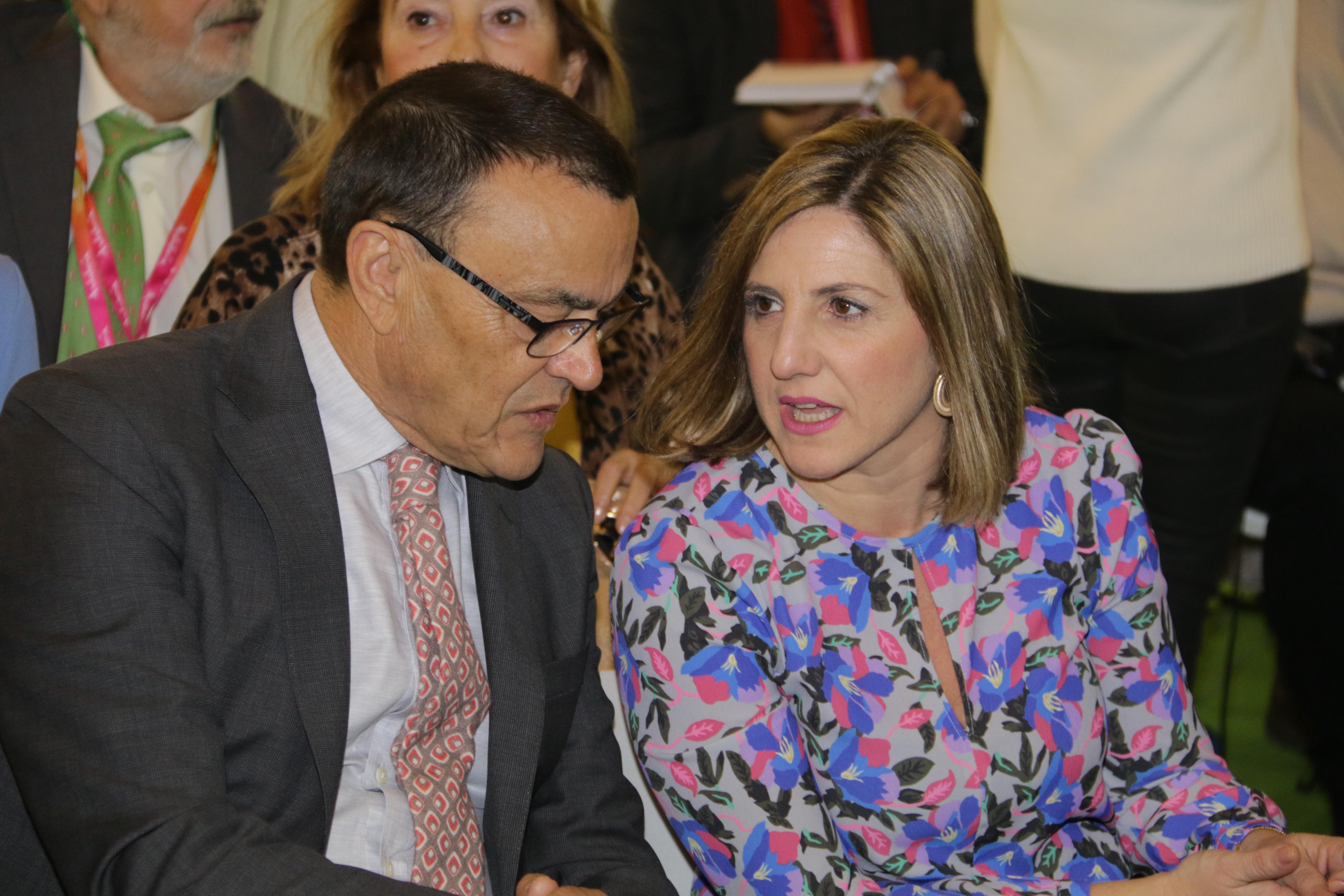 Inauguracion pabellon Andalucia Fitur 2