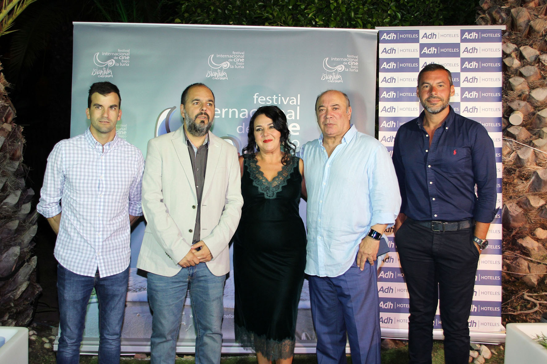 2018 07 07 Inauguración del XI Festival de Islantilla - Invitada, Director, Vicepresidente y Concejales