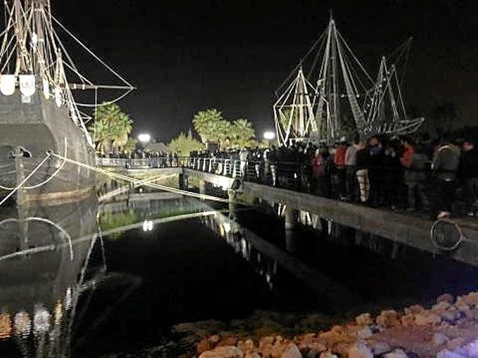 El Muelle de las Carabelas ha acogido a una delegación de la multinacional