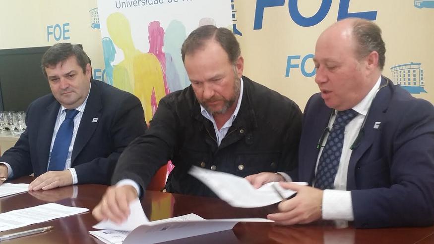 Con la firma de este convenio, se quiere favorecer a empresas y jóvenes