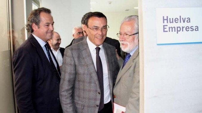 Inauguración de la nueva oficina Huelva Empresa.
