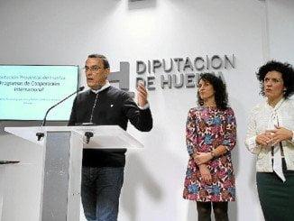El presidente de la Diputación de Huelva presenta a los alcaldes de la Costa, el Área Metropolitana y Campiña Andévalo el nuevo Plan Director de Cooperación 2016-2019