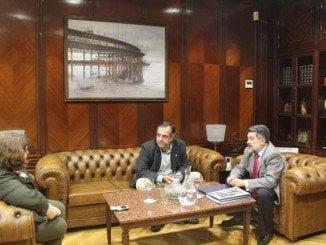 Los presidentes del Puerto y del CESpH acuerdan la convocatoria de un premio de investigación