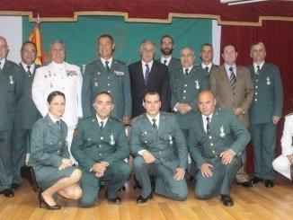 El subdelegado del Gobierno en Huelva ha destacado el esfuerzo constante de la Guardia Civil