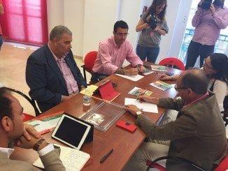 Díaz Trillo ha criticado la PAC y ha exigido al Gobierno central el trasvase de agua al Condado
