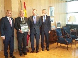 Representantes de ANCCE junto al Alto Comisionado para la Marca España
