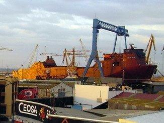 Astilleros de Huelva tiene los días contados si no entra trabajo
