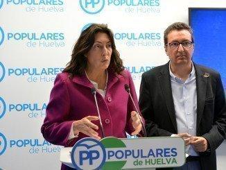 López ha dado una rueda de prensa esta mañana para pedir el cese de ambos consejeros