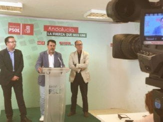 Ferrera, Díaz Trillo y Guerra en rueda de prensa