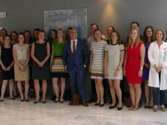 El grupo de profesionales de la salud holandesa, de visita a sus homólogos andaluces