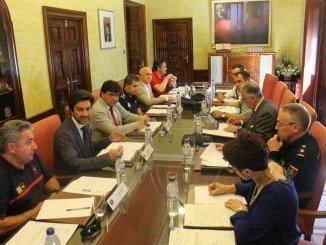 Primera reunión para organizar la seguridad de un gran evento deportivo que acogerá Huelva