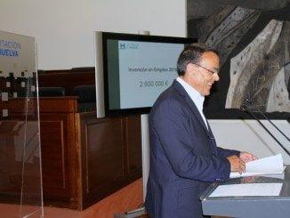 Caraballo ha ofrecido la primera rueda de prensa en la nueva sede