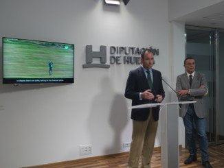 Ignacio Caraballo y Kotska Horno presentan  las actividades para promocionar el turismo de golf