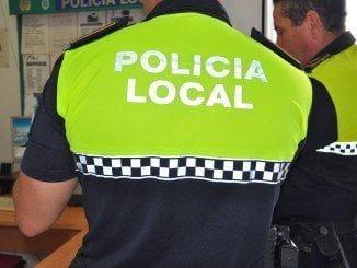 La Policía Local detuvo al delincuente