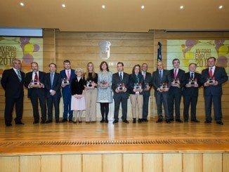 Un momento de la IV Gala del Reconocimiento Empresarial de la Universidad de Burgos