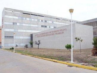 Facultad de Trabajo Social en el Campus del Carmen en Huelva