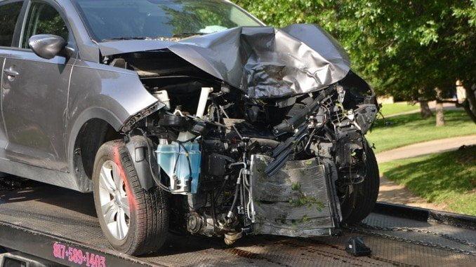 El accidente se produjo por una colisión entre dos vehículos