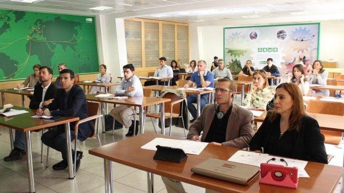 Arquitectos de 20 estudios de Andalucía asisten en E UU a unas jornadas sobre el sector