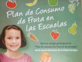 Las campañas de promoción de consumo de frutas en el cole son habituales en el Ministerio