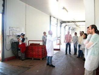 Los estudiantes y profeores del Máster visitan la cooperativa Cuna de Platero