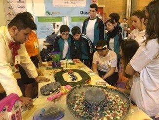 Durante tres días los escolares han disfrutado de la Ciencia en Fibes