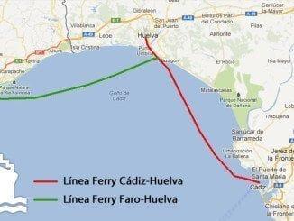 La alternativa de la conexión marítima Huelva-Cádiz, en el aire
