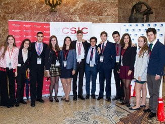 Los alumnos de 4º de la ESO en una de las ediciones anteriores del congreso