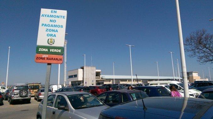 Desde hoy, los ayamontinos no tienen que pagar por aparcar en el centro