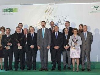 Retrospectiva de la entrega de Premios Alas 2014 en la que estuvo presente el Rey