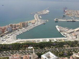 El nuevo hotel se contruirá junto al Puerto de Málaga