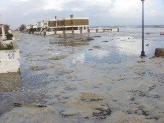 Los daños causados por el temporal son el centro de la campaña electoral
