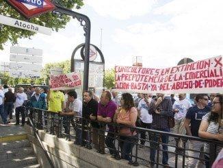 Los cunicultores ya protagonizaron protestas ante el Ministerio de Agricultura el año pasado