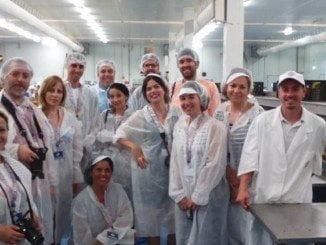 Blogueros de toda España visitan la fábrica de Usisa