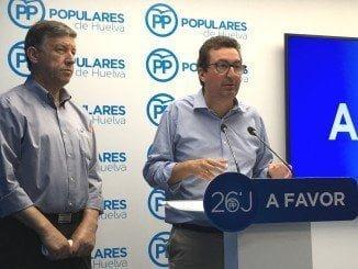 González y Romero en la rueda de prensa para hacer balance de los resultados