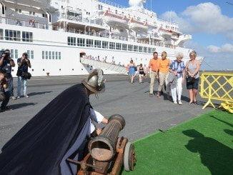 La llegada de cruceros a Huelva se ha convertido en una tónica habitual