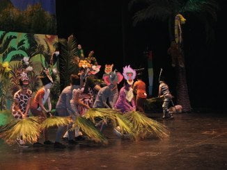 Los colegios Tartessos y San Fernando han preparado un divertido espectáculo
