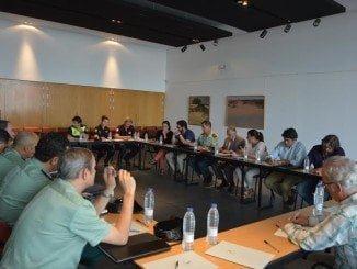 La Junta de Seguridad ha estado presidida por el delegado del Gobierno y la alcaldesa de Almonte