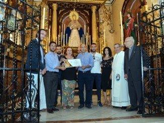 La Hermandad de la Victoria también ha apoyado al Recreativo de Huelva.