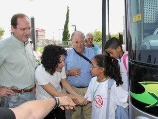 Los niños saharauis del programa Vacaciones en Paz pasaran el verano con familias de Huelva