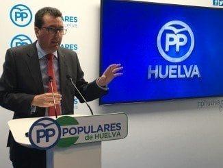Manuel Andrés González, presidente del PP en Huelva
