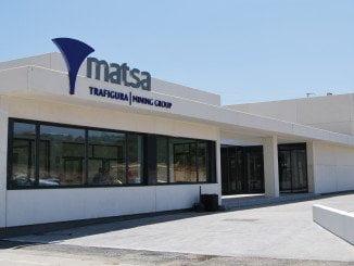 Matsa se dedica a la investigación y explotación de yacimientos minerales y a su tratamiento