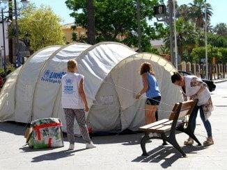 Huelva está celebrando  actividades de sensibilización sobre la difícil situación de los refugiados