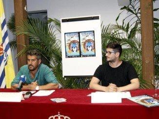 El concejal   de Juventud y el coordinador del evento en la presentación