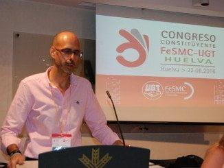 Fernando Parrillo, elegido secretario general de FeSMC-UGT con el 100% de los votos