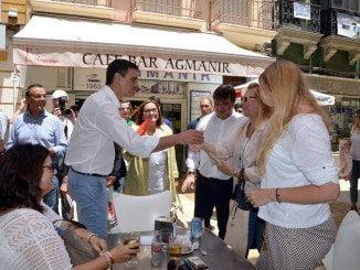 Pedro Sánchez, que visitó Huelva en campaña electoral, no ha hecho declaraciones desde el 26J