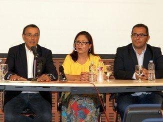 Caraballo asiste a la presentación del Nuevo Plan Estratégico, en Punta