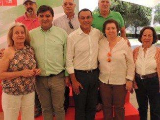 Reconocimiento a compañeros con 30 años de militancia y labor socialista en Huelva