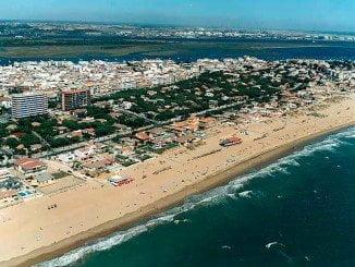 El suceso ocurrió durante la celebración de un evento en Punta Umbría